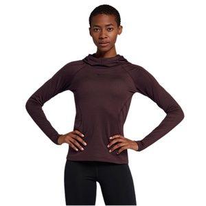 Nike Pro Hyperwarm Hoodie Burgundy XS NWOT